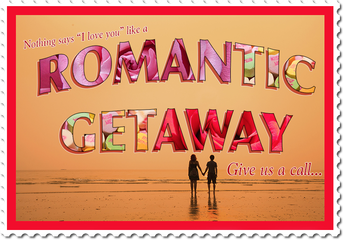 Romantic Getaway destination graphic
